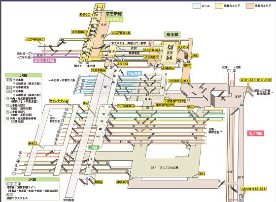 新宿駅西口・東口TOP