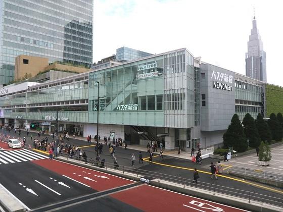 バスタ新宿トイレ2