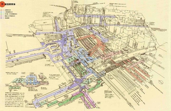 新宿駅西口・東口1