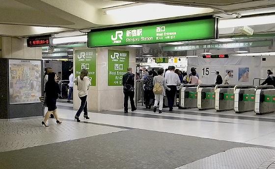 新宿駅西口・東口4