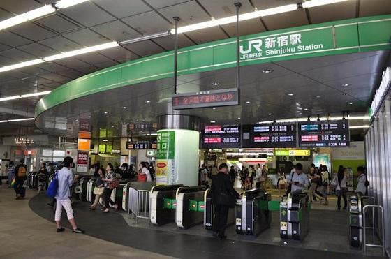 新宿駅西口・東口8