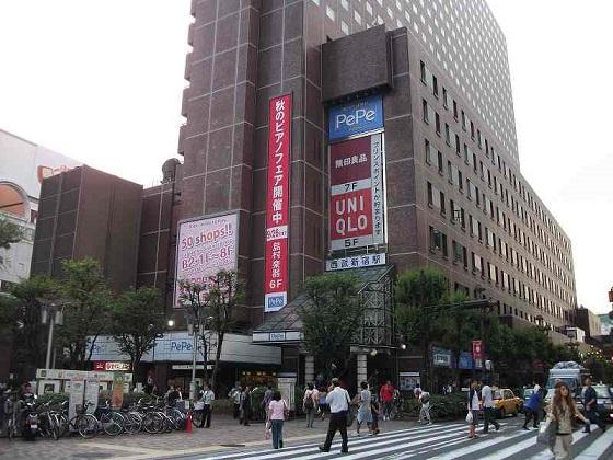 西武新宿駅前公衆便所2
