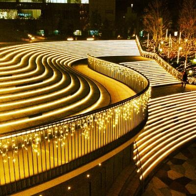 新宿イーストサイドスクエア イルミネーション2