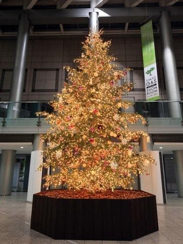 新宿パークタワー クリスマス2017