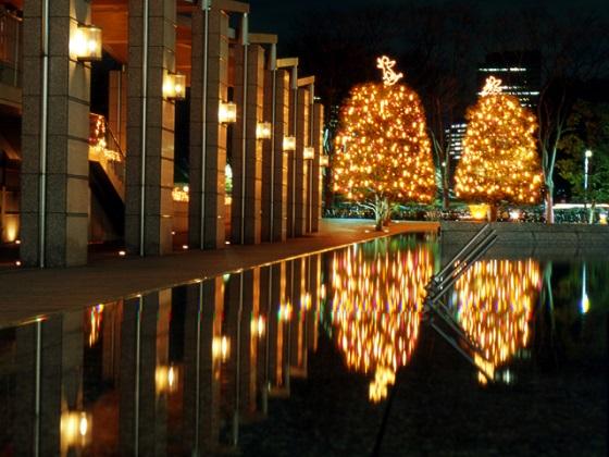 新宿パークタワー クリスマス2017_2